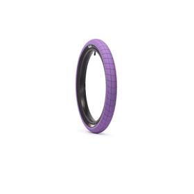 "Eclat Fireball BMX Tyre 20x2.30"", purple/black"